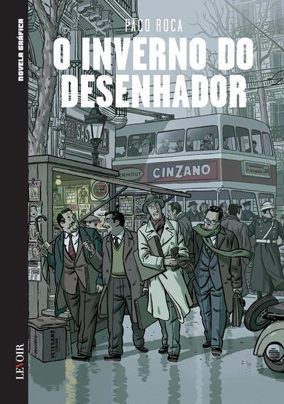 Cover for Novela Gráfica (Levoir, 2016 series) #13 - O Inverno do Desenhador