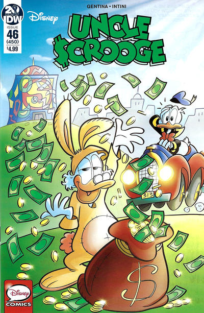 Cover for Uncle Scrooge (IDW, 2015 series) #46 / 450