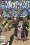 Cover for The Batman and Robin Adventures (DC, 1995 series) #4 [Newsstand]