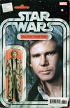 Cover for Star Wars (Marvel, 2015 series) #66 [John Tyler Christopher 'Action Figure' (Han Solo: Trench Coat)]
