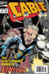 Cover for Cable (Marvel, 1993 series) #5 [Newsstand]