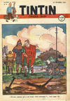 Cover for Le journal de Tintin (Le Lombard, 1946 series) #9/1947