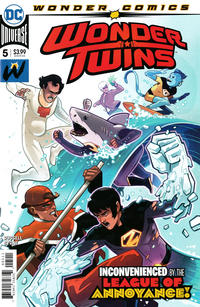 Cover Thumbnail for Wonder Twins (DC, 2019 series) #5