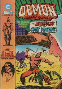 Cover Thumbnail for Démon (Arédit-Artima, 1985 series) #4