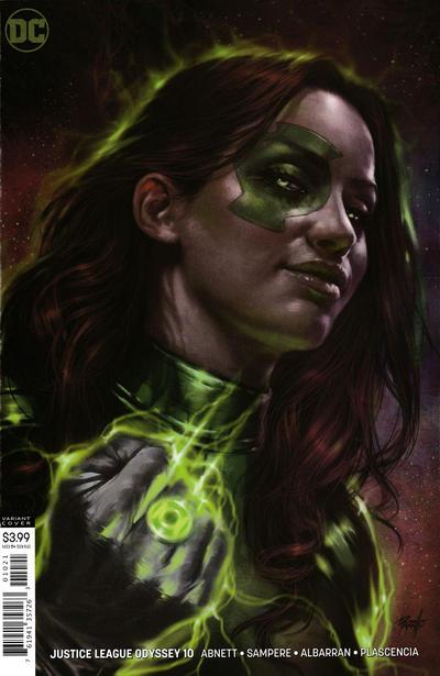 Cover for Justice League Odyssey (DC, 2018 series) #10 [Daniel Sampere & Juan Albarran Cover]
