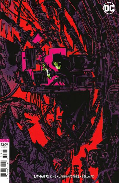 Cover for Batman (DC, 2016 series) #72