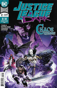 Cover Thumbnail for Justice League Dark (DC, 2018 series) #12 [Alvaro Martinez Bueno & Raul Fernandez Cover]