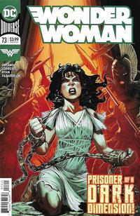 Cover Thumbnail for Wonder Woman (DC, 2016 series) #73 [Jesus Merino Cover]