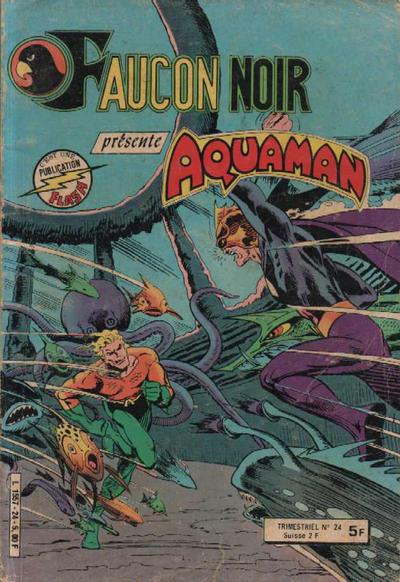 Cover for Faucon Noir (Arédit-Artima, 1977 series) #24