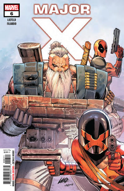 Cover for Major X (Marvel, 2019 series) #6