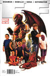 Cover for FF (Marvel, 2011 series) #12 [Newsstand]