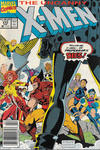 Cover Thumbnail for The Uncanny X-Men (1981 series) #273 [Newsstand]
