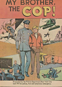 Cover Thumbnail for My Brother, the Cop (American Comics Group, 1971 series)