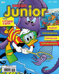 Cover Thumbnail for Donald Duck Junior (Hjemmet / Egmont, 2018 series) #7/2019