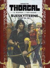 Cover Thumbnail for Sagaen om Thorgal (Hjemmet / Egmont, 2018 series) #3 - Bueskytterne, landet Qa, del 1