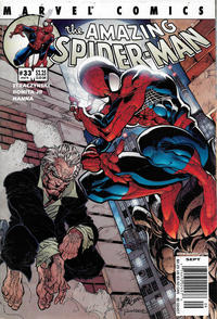 Cover Thumbnail for The Amazing Spider-Man (Marvel, 1999 series) #33 (474) [Newsstand]