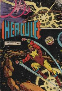 Cover Thumbnail for Hercule (Arédit-Artima, 1976 series) #19