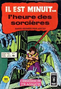 Cover Thumbnail for Il Est Minuit... l'Heure des Sorcières (Arédit-Artima, 1975 series) #2