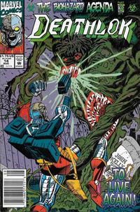 Cover Thumbnail for Deathlok (Marvel, 1991 series) #14 [Newsstand]