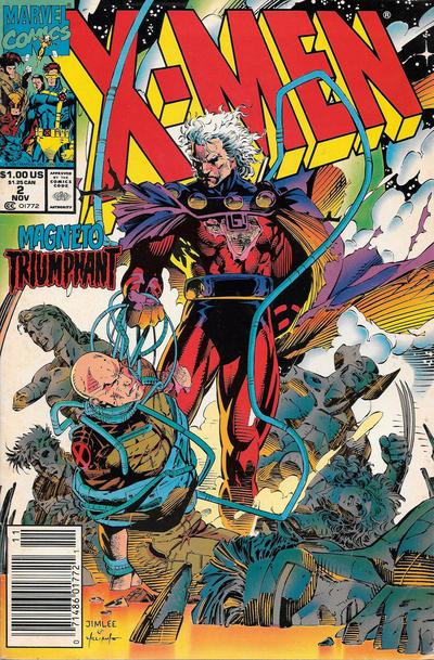 Cover for X-Men (Marvel, 1991 series) #2 [Direct]