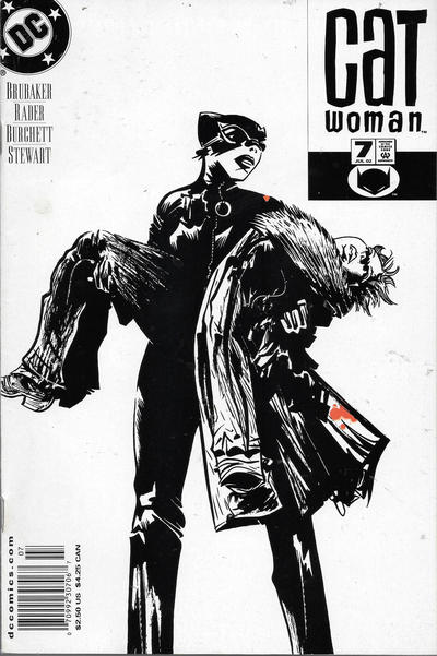 Cover for Catwoman (DC, 2002 series) #7 [Newsstand]