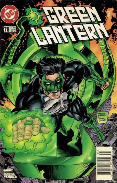 Cover for Green Lantern (DC, 1990 series) #78 [Direct Sales]