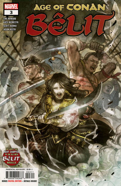 Cover for Age of Conan: Bêlit (Marvel, 2019 series) #3