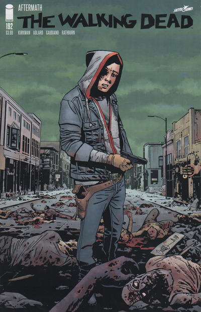 Cover for The Walking Dead (Image, 2003 series) #192 [Blank Cover]