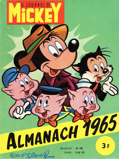 Cover for Almanach du Journal de Mickey (Hachette, 1956 series) #1965