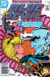 Cover for Blue Devil (DC, 1984 series) #7 [Newsstand]