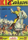 Cover for Kit Carson (Impéria, 1956 series) #43