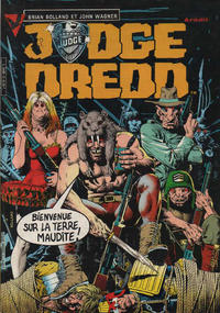 Cover Thumbnail for Judge Dredd (Arédit-Artima, 1984 series) #3