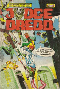 Cover Thumbnail for Judge Dredd (Arédit-Artima, 1984 series) #16