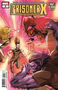Cover Thumbnail for Age of X-Man: Prisoner X (Marvel, 2019 series) #5