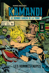 Cover Thumbnail for Kamandi (Arédit-Artima, 1975 series) #10