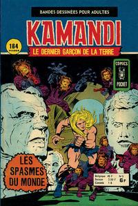 Cover Thumbnail for Kamandi (Arédit-Artima, 1975 series) #5