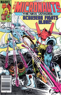 Cover Thumbnail for Micronauts (Marvel, 1984 series) #7 [Newsstand]