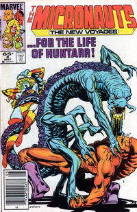 Cover Thumbnail for Micronauts (Marvel, 1984 series) #8 [Newsstand]