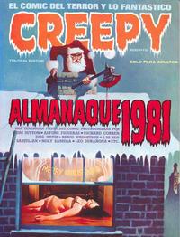 Cover Thumbnail for Creepy Almanaque (Toutain Editor, 1979 series) #1981