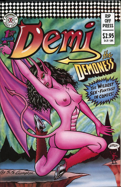 Cover for Demi the Demoness (Rip Off Press, 1993 series) #1