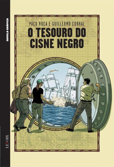 Cover for Novela Gráfica 2019 (Levoir, 2019 series) #1 - O Tesouro do Cisne Negro