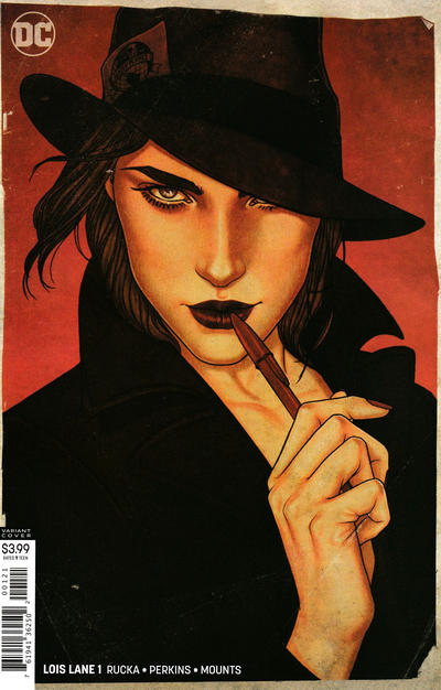 Cover for Lois Lane (DC, 2019 series) #1 [Jenny Frison Cover]