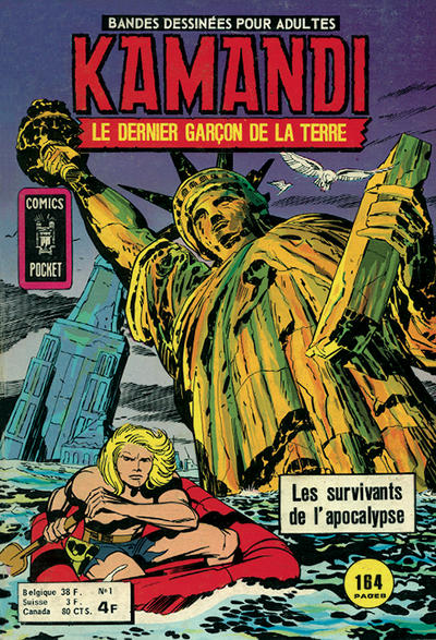 Cover for Kamandi (Arédit-Artima, 1975 series) #1
