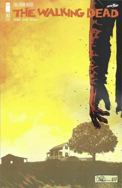 Cover for The Walking Dead (Image, 2003 series) #193