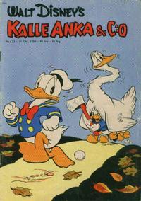 Cover Thumbnail for Kalle Anka & C:o (Hemmets Journal, 1957 series) #22/1958