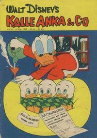 Cover Thumbnail for Kalle Anka & C:o (Hemmets Journal, 1957 series) #25/1958