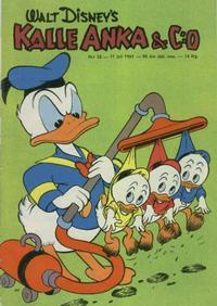 Cover Thumbnail for Kalle Anka & C:o (Hemmets Journal, 1957 series) #28/1961