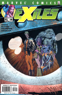 Cover Thumbnail for Exiles (Marvel, 2001 series) #14 [Direct Edition]