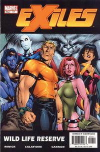 Cover Thumbnail for Exiles (Marvel, 2001 series) #17 [Direct Edition]