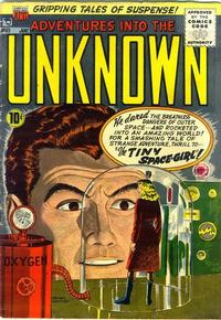 Cover Thumbnail for Adventures into the Unknown (American Comics Group, 1948 series) #63